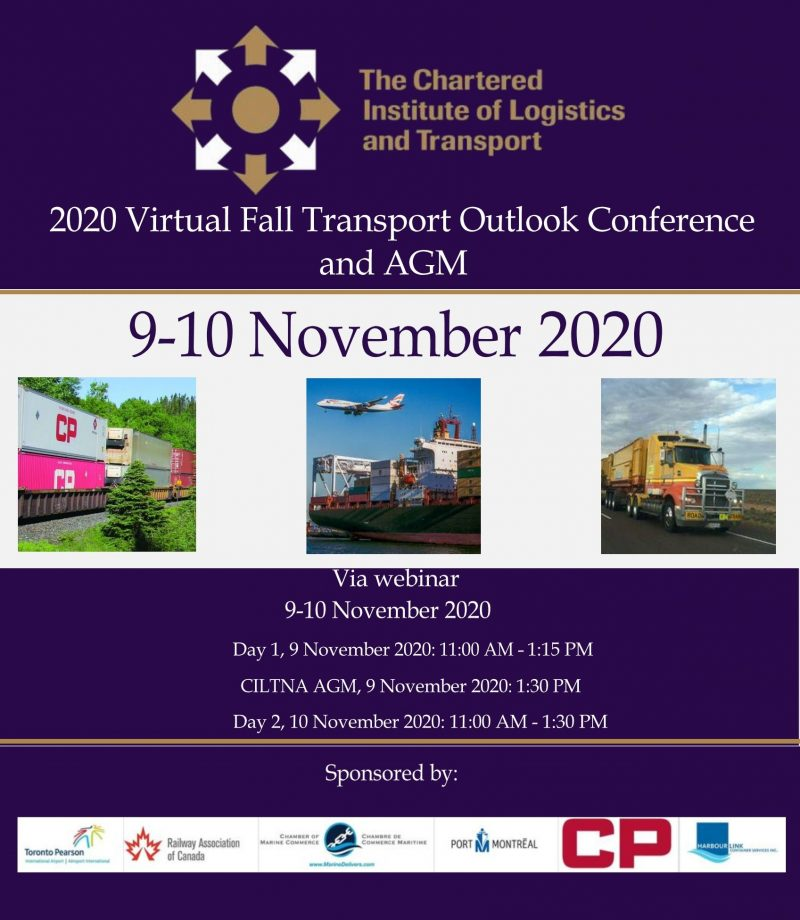 Two Day - 2020 Virtual Fall Transport Outlook Conference
