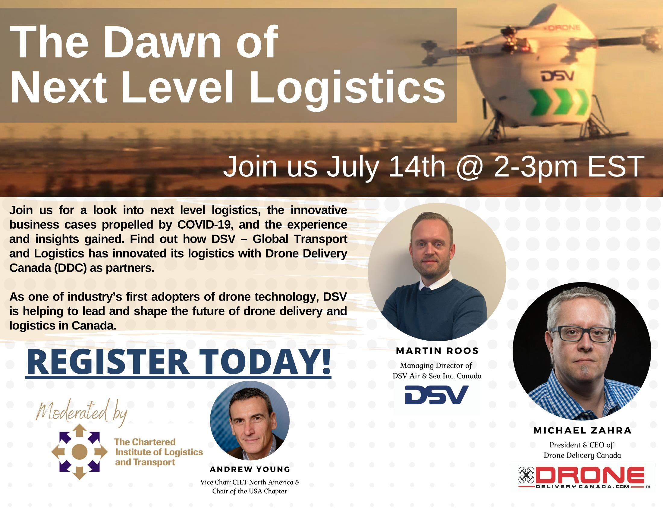 The Dawn of Next Level Logistics Webinar